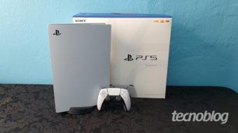 PlayStation 5 (PS5): grande em tamanho e poder de fogo