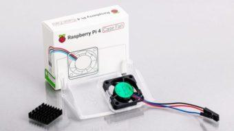 Raspberry Pi 4 ganha ventoinha de US$ 5 para não esquentar demais