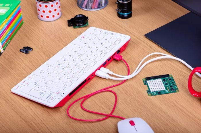 Raspberry Pi 400 (imagem: divulgalção/Raspberry Pi Foundation)