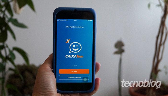 Aplicativo Caixa Tem (Imagem: Tatiana Vieira/Tecnoblog)