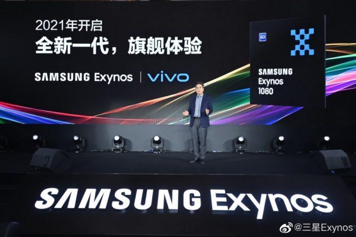 Apresentação do Exynos 1080 (imagem: Samsung)
