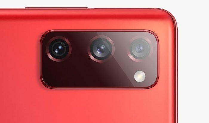 Câmeras do Samsung Galaxy S20 Fan Edition (Imagem: Divulgação/Samsung)