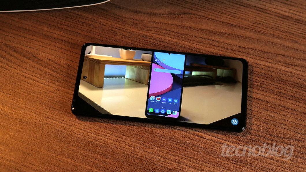 Samsung Galaxy S20 FE (Imagem: Paulo Higa/Tecnoblog)