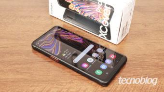 Samsung Galaxy XCover Pro: armadura e muitos botões