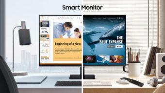Samsung lança Smart Monitor com apps de TV, Apple AirPlay 2 e mais