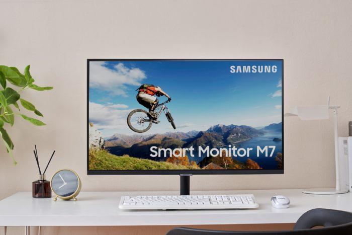Smart Monitor M7 da Samsung (Imagem: divulgação/Samsung)