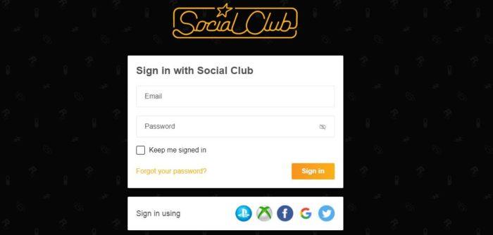 Vincular a conta na Rockstar Social Club garante benefícios (Imagem: Reprodução / Rockstar)