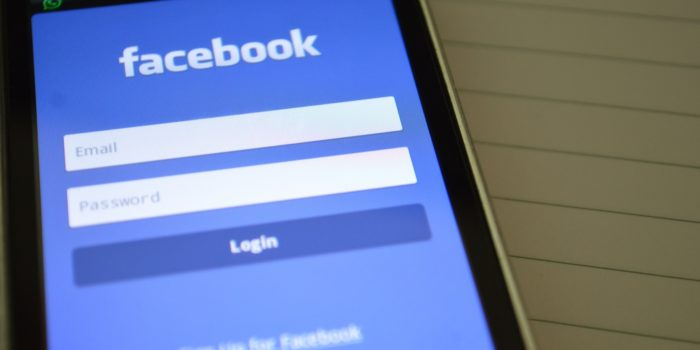 Aplicativo do Facebook (Imagem: Reprodução/Pxhere)