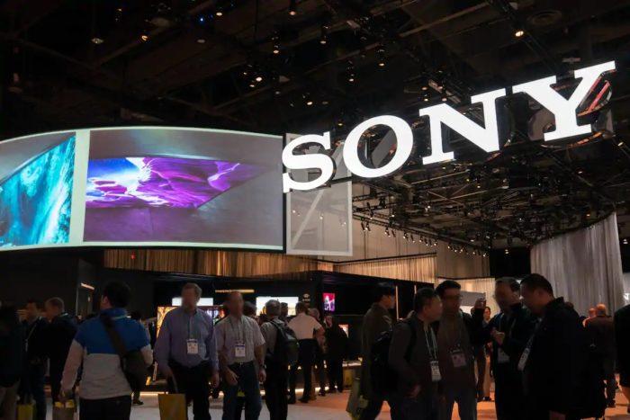 Estande da Sony na CES (Imagem: Divulgação/Sony)