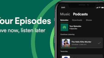 Spotify permite criar playlists com episódios de podcasts