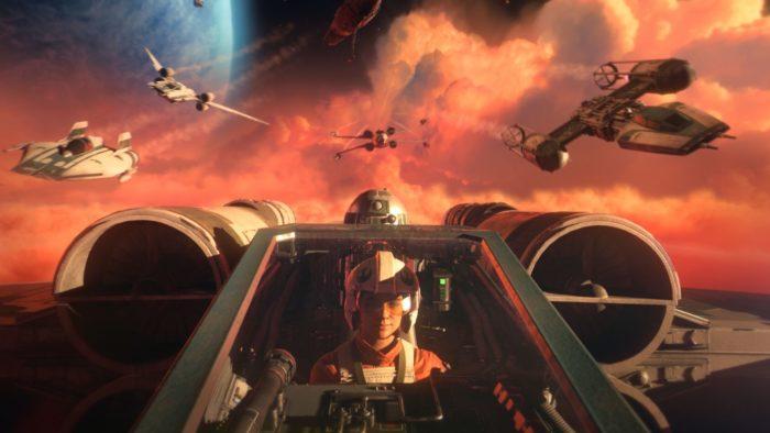 Star Wars: Squadrons terá melhorias na nova geração (Imagem: EA)