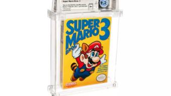 Cópia de Super Mario Bros. 3 é o jogo mais caro já vendido