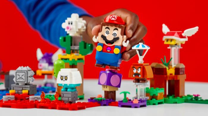 Super Mario Lego se expande em 2021 (Imagem: Lego/Divulgação)