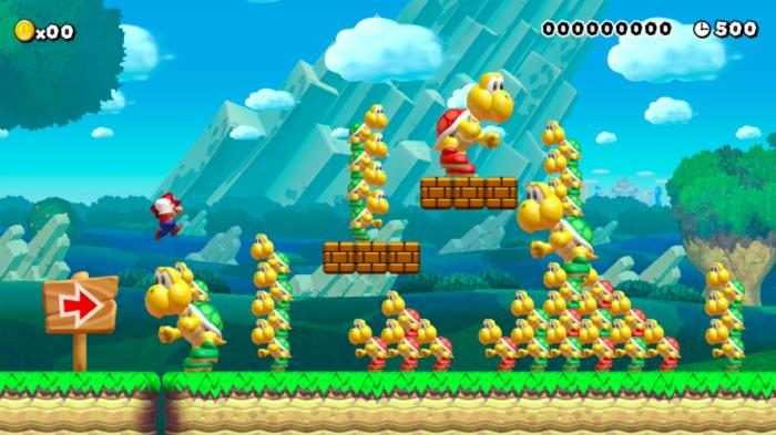 Super Mario Maker de Wii U perderá componente online em março (Imagem: Nintendo/Divulgação)