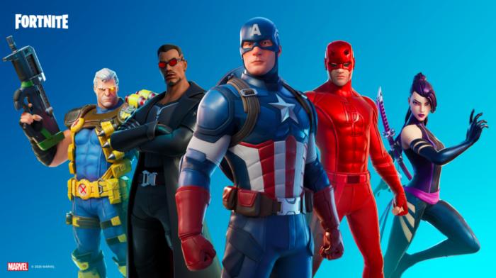 Heróis da Marvel retornam em Fortnite (Imagem: Epic Games/Divulgação)