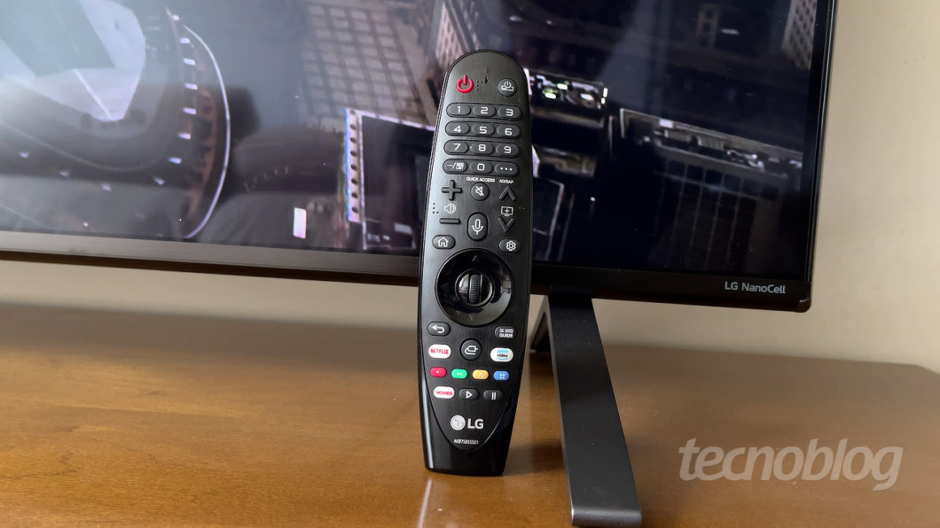 TV 4K LG Nano90 (Imagem: Paulo Higa/Tecnoblog)