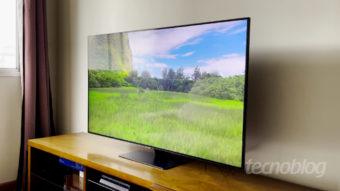 TV QLED Samsung Q80T: imagem, funções e ressalvas