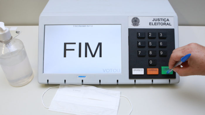 Electronic ballot box for 2020 elections (Image: Antonio Augusto / Ascom / TSE)