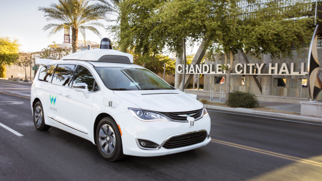 Waymo autonomous car (Image: Press Release / Waymo)