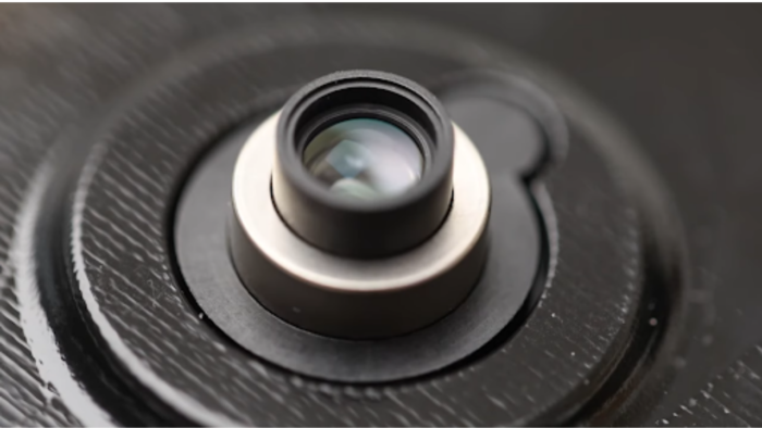 Lente retrátil para câmera de celular Imagem: Reprodução/Xiaomi