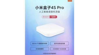 Xiaomi anuncia Mi Box 4S Pro com suporte a vídeos 4K e 8K