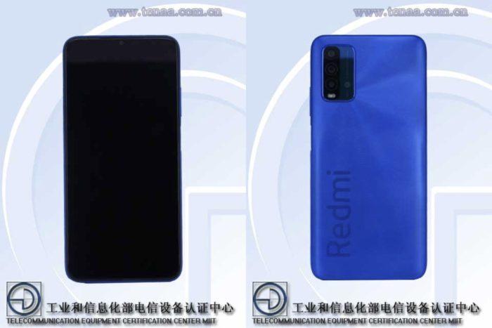 Suposto Xiaomi Redmi Note 10 aparece no TENAA (Imagem: Reprodução/TENAA)