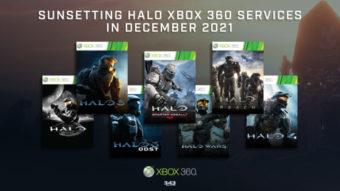 Halo 3, 4 e Reach vão perder serviços online no Xbox 360