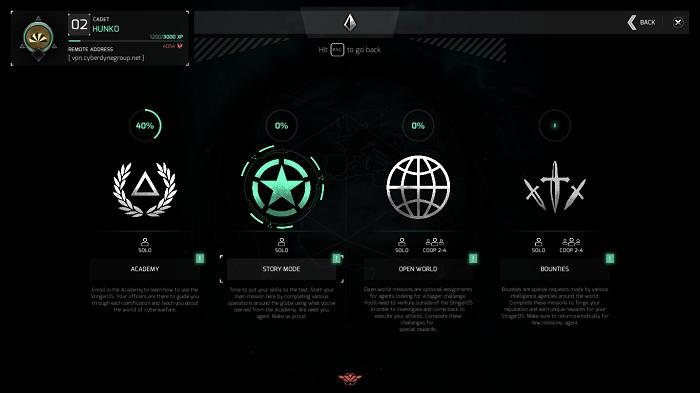 Modos de jogo em NITE Team 4 (Imagem: Leandro Kovacs/Reprodução)