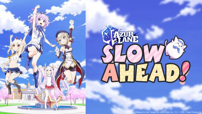 Anime AzurLane: Slow Ahead!