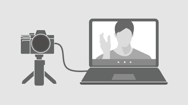 Como usar a camera Sony como webcam (Imagem: Reprodução/Sony)