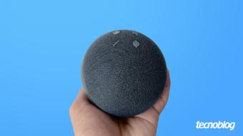 Amazon Echo Dot (4ª geração): bolinha de cristal com Alexa