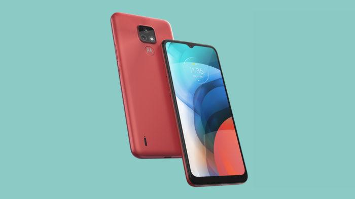 Motorola Moto E7 (Imagem: Divulgação/Motorola)