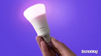 Smart Lâmpada Philips Hue (Bluetooth): eficiente, mas ainda restrita