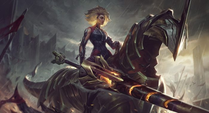 Rell chega no patch 10.25 de League of Legends (Imagem: Divulgação/League of Legends)