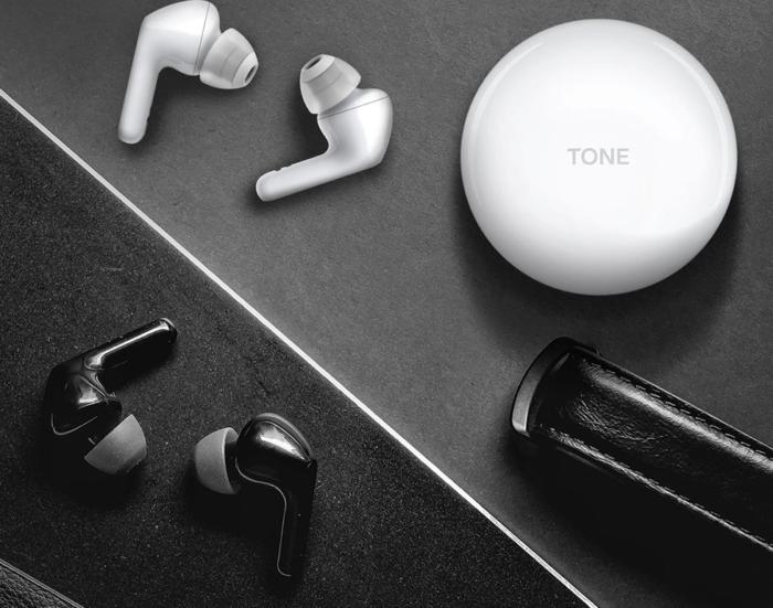 Fone LG Tone Free FN6 (Imagem: LG/Reprodução)