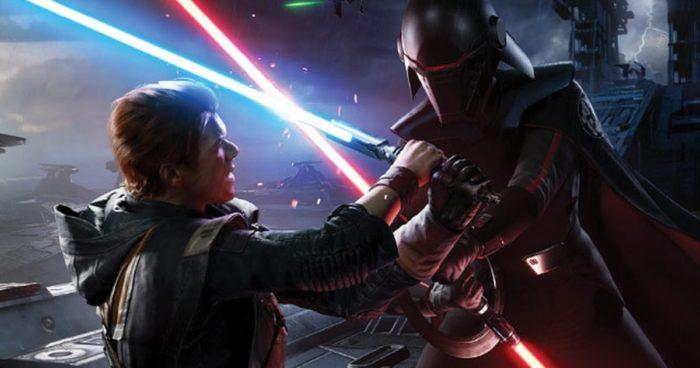 Star Wars Jedi Fallen Order é um dos jogos em promoção (Imagem: Divulgação/EA)