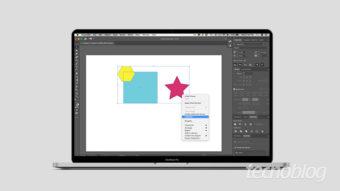 Como agrupar e desagrupar objetos no Illustrator