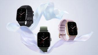 Amazfit GTS 2e e GTR 2e são relógios com bateria de longa duração