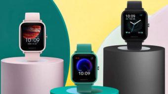 Huami lança Amazfit Pop Pro com GPS e bateria para nove dias