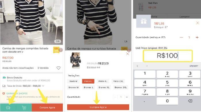 Compre no Shopee pelo App (Imagem: Divulgação / Shopee)