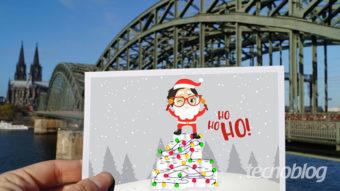 Como criar um cartão de Natal digital [mensagens online]