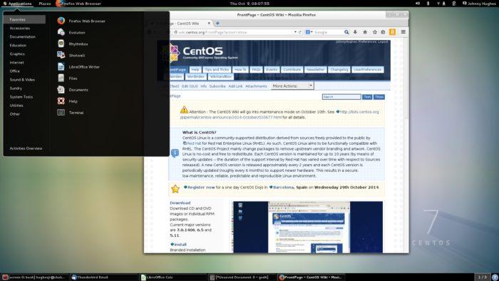 CentOS 7 (imagem: divulgação/CentOS)