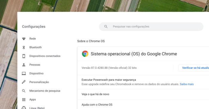 Chrome OS 87 (Imagem: reprodução)
