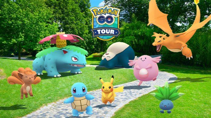 Pokémon GO Tour: Kanto (Imagem: Divulgação/Pokémon GO)