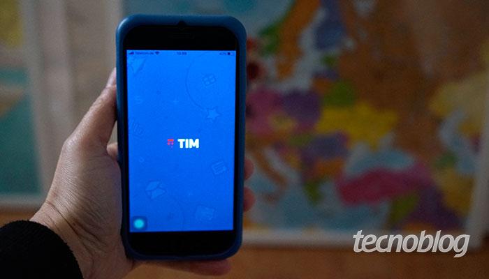 App meu TIM (Imagem: Tatiana Vieira/Tecnoblog)