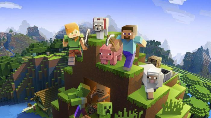 Minecraft (Imagem: Divulgação/Mojang/Xbox Game Studios) / Como jogar Minecraft via Hamachi
