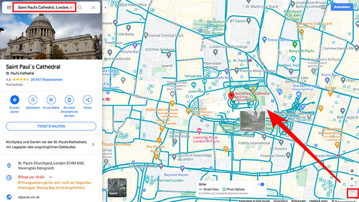 Explorando cidades com Google Street View