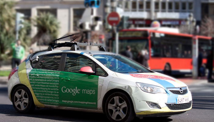 Explorando a cidade com o Google Street View
