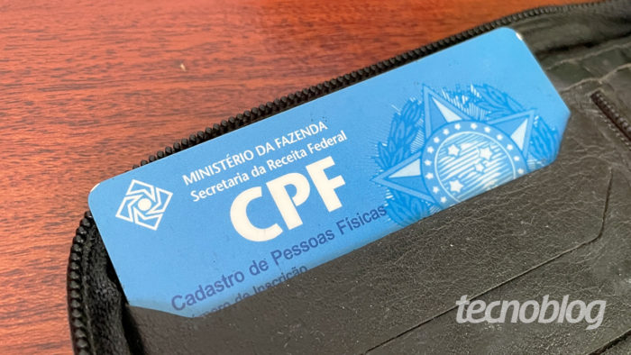 CPF (Image: Emerson Alecrim / Tecnoblog)