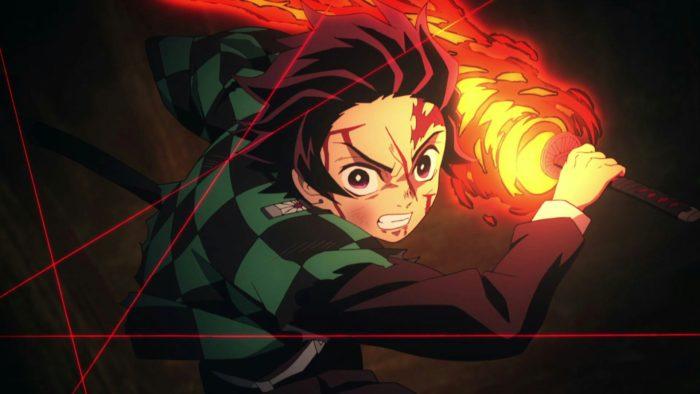 Demon Slayer é um anime disponível na Crunchyroll e Funimation (Imagem: Ufotable/Divulgação)